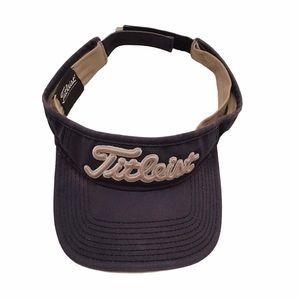 Men's Titleist ProV1 Navy Blue Golf Visor Hat